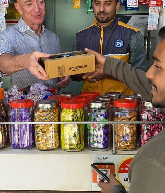 Eコマース市場拡大とアマゾンのインド進出